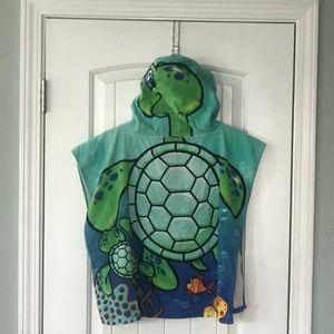 Turtle bath towel